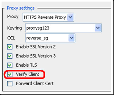 Using client certificate authentication w/ BC ProxySG | David