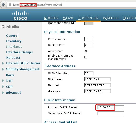 Cisco WLC 2500 series – Lessons Learned   David Vassallo's Blog