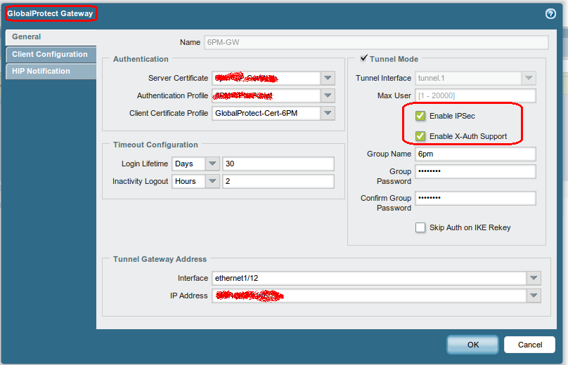Connecting to a Palo Alto Network GlobalProtect Gateway from