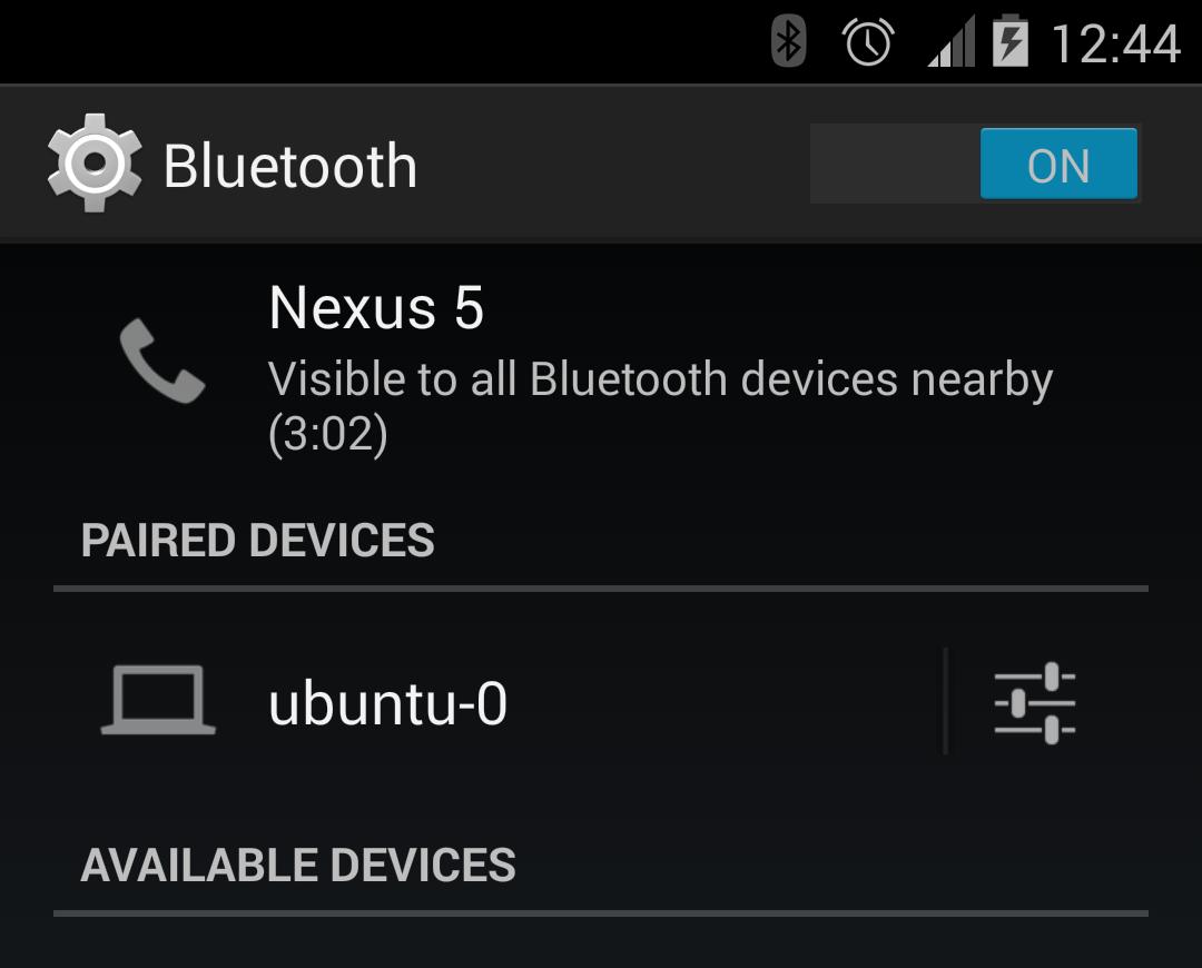 Android (SL4A) bluetooth to Linux (ubuntu) – David Vassallo's Blog