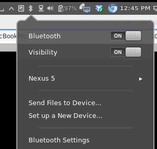 Android (SL4A) bluetooth to Linux (ubuntu) | David