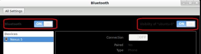 ubuntu bluetooth settings