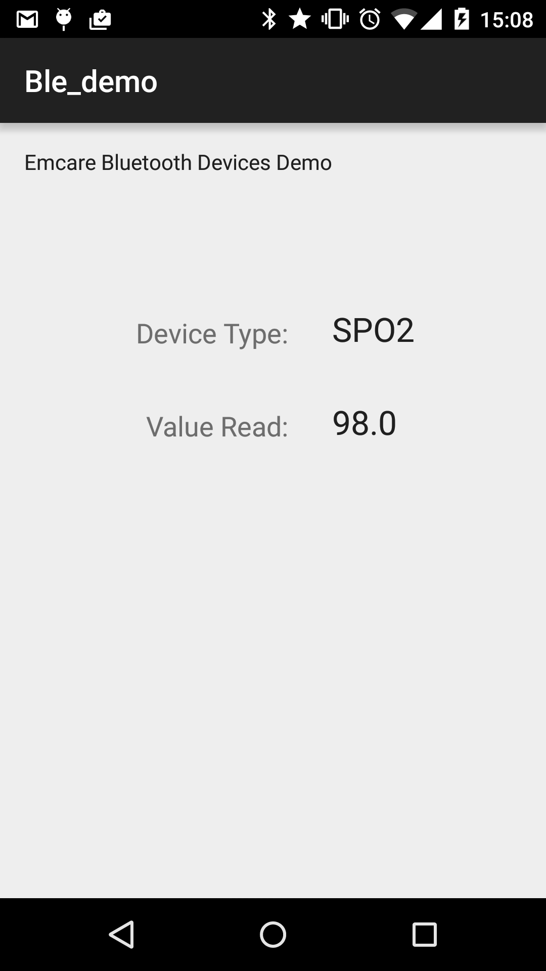 BLE Health Devices: First Steps with Android | David